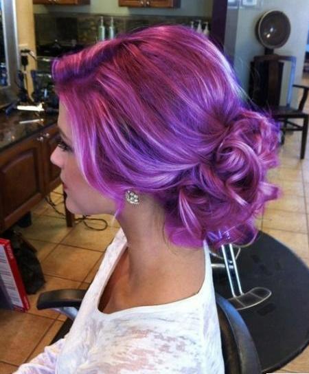 Cabello violeta, como lograrlo.