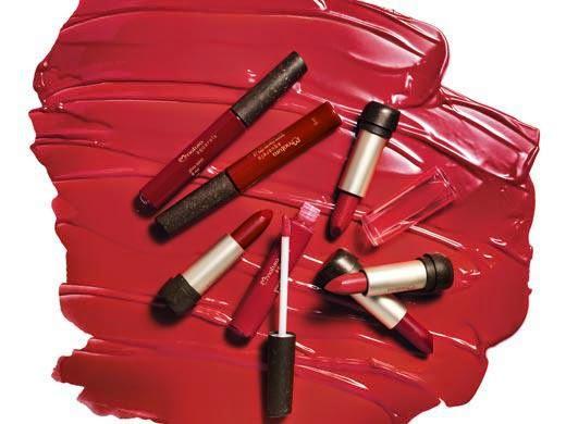 Natura Aquarela linha de maquiagem batom vermelho