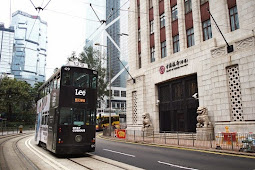 Melihat Trem, Ikon Transportasi Publik di Hong Kong