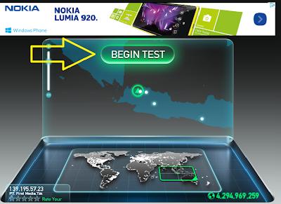 Tips Cara Mengukur Kecepatan Koneksi Internet
