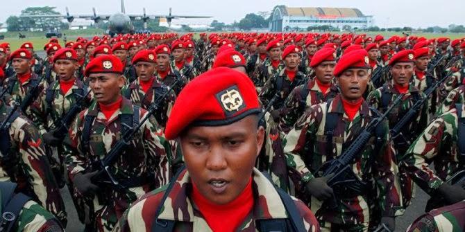 Kopassus dan Paskhas akan latihan dengan pasukan Komando China