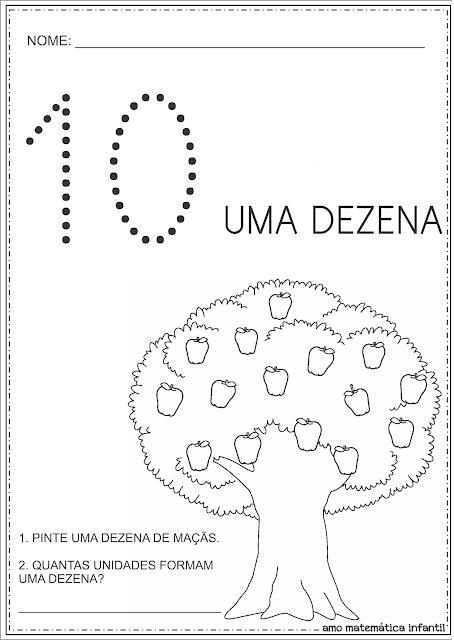 Dia da Árvore Atividades Dezena