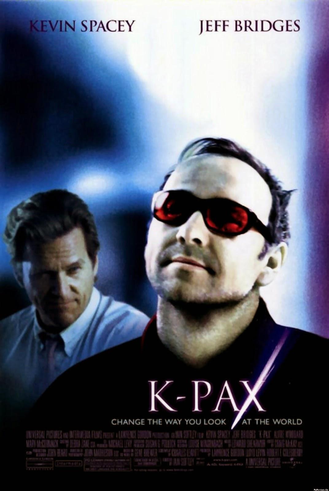 Poster K-Pax | Aula particular de inglês com filmes