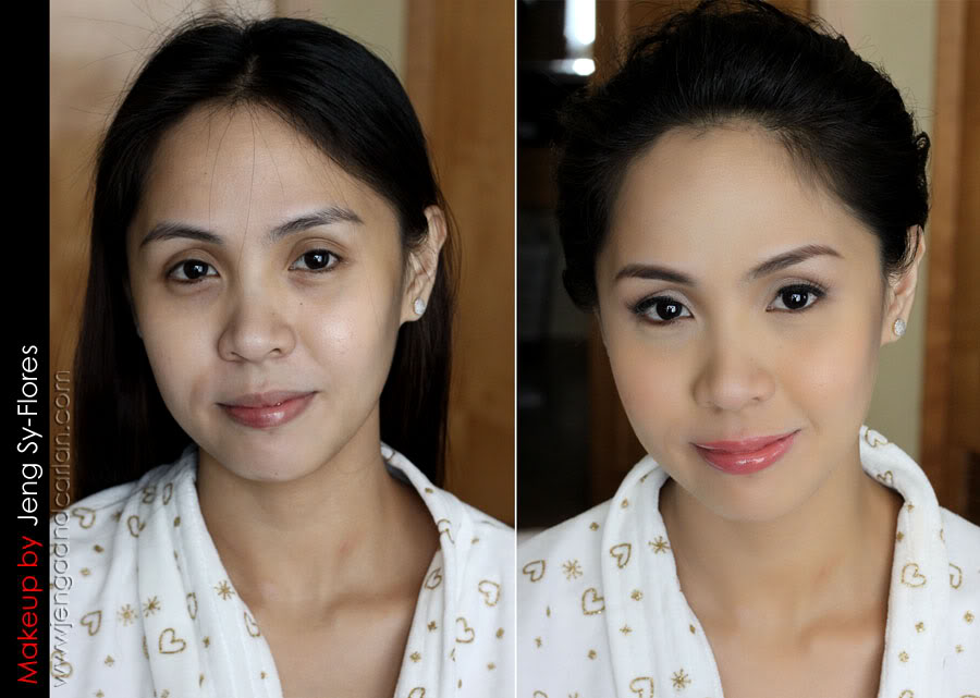 Airbrush Bridal Makeup Before And After : The Benefits of Airbrush Makeup Makeup for Your Day Beauty