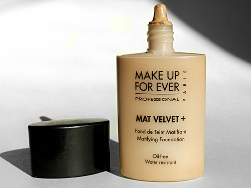 make up for ever mat velvet foundation