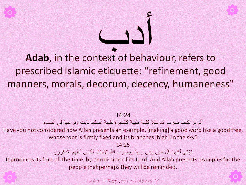good manners and decorum manners are
