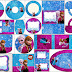 Frozen in Blue and Purple: Free Printable Candy Bar Labels.