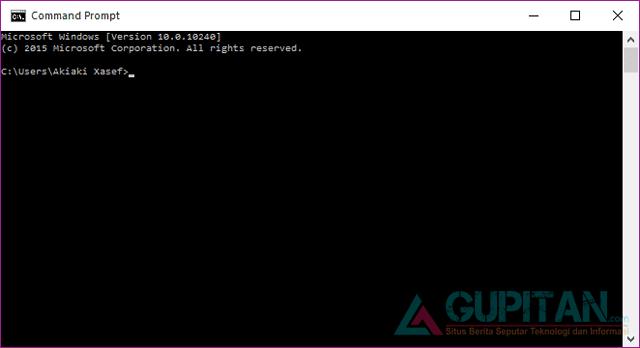 Cara Membuka Command Prompt (CMD) di Windows 10