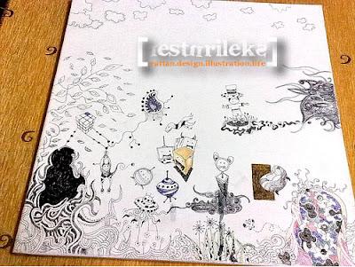canvas doodle
