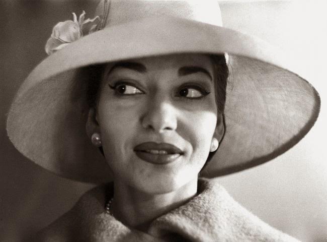 Maria Callas opera singer