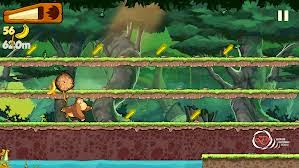 لعبة القرد وتجميع الموز