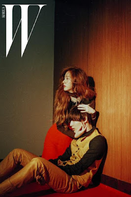 Krystal f(x), EXO Kai and SHINee Tae Min - W Magazine August Issue 2015