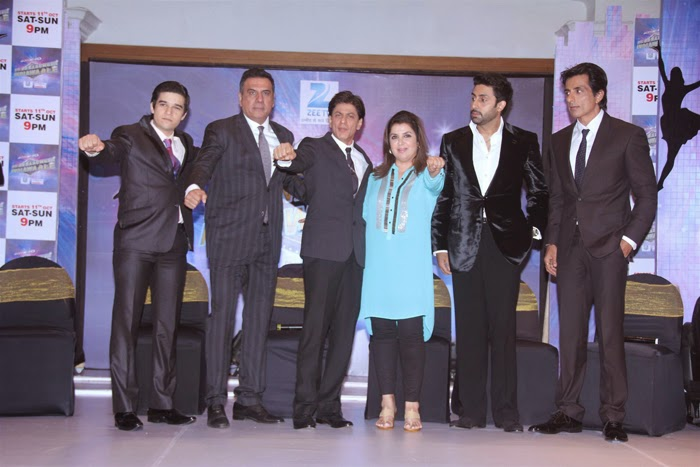 Happy New Year Movie Team Launch ZEE TV Reality Show Photos