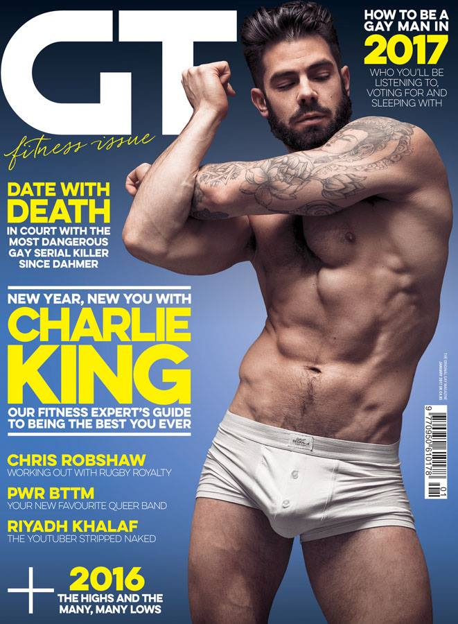 Gay male magazine