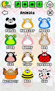 Outfits de animales para Pou