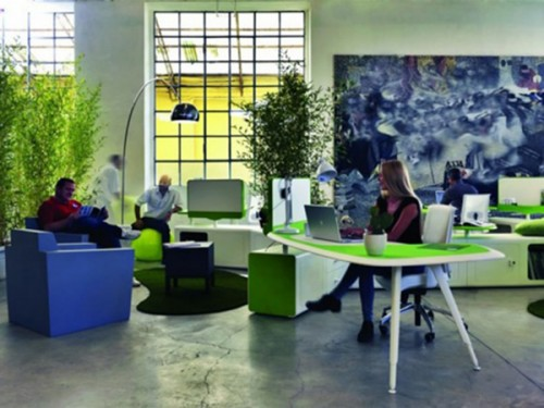 Green Office Furniture Innovative Decor With Stylish