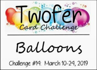 TWOFER CHALLENGE NO 14 BALLOONS