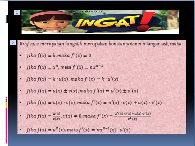 Kampo3ng Math Turunan Matematika Kelas Xi Ips Ppt