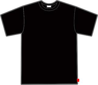 oblong hitam