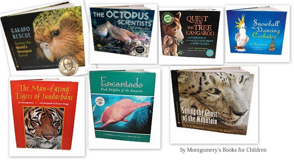 Sy Montgomery's Brilliant Animal Books for Children