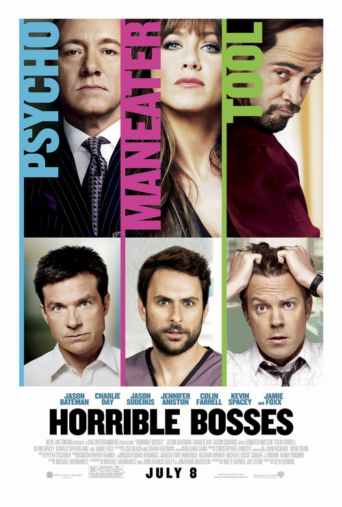 Horrible Bosses Extended 2011 - BDRip at only 648MB  Horrible-bosses-poster
