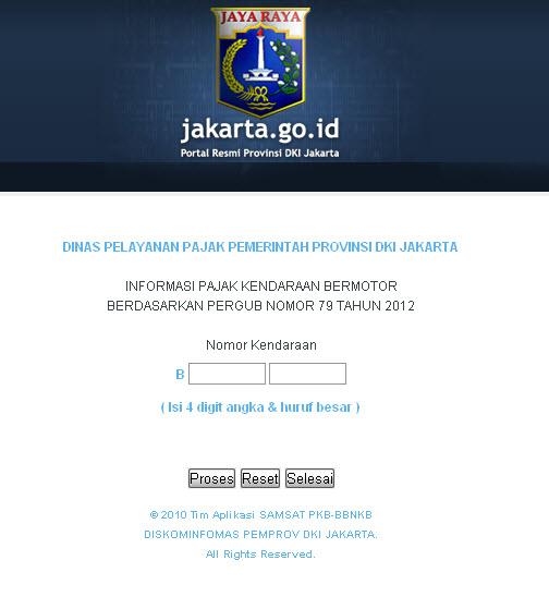 Cek keaslian BPKB dan STNK online - www.terbaik-indonesia.com
