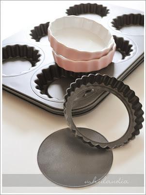 foremki do ciastek i formy do pieczenia ciast - przewodnik (foremka do tarteletek)