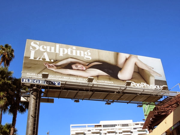 Pop Physique Sculpting LA billboard