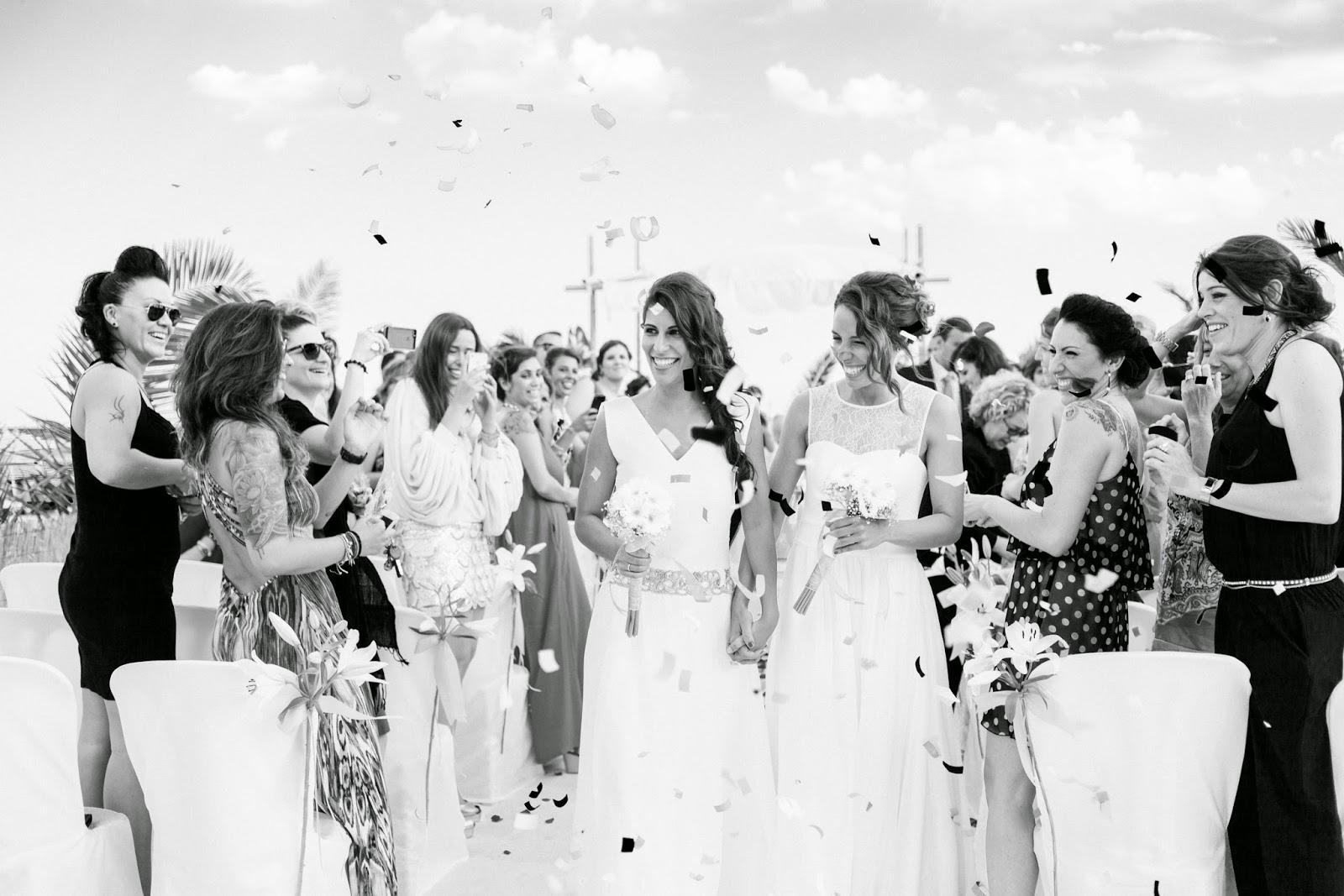 boda playa sitges