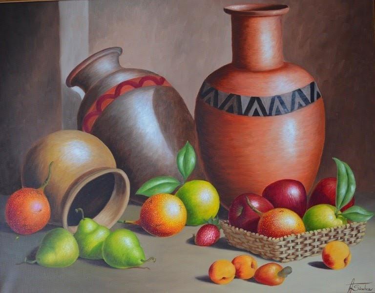 Imágenes Arte Pinturas: Cuadro pintura en óleo de bodegón