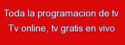 PROGRAMACION DE TV
