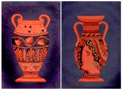 Roman Pottery Coloring PagesPotteryPrintable Coloring Pages Free