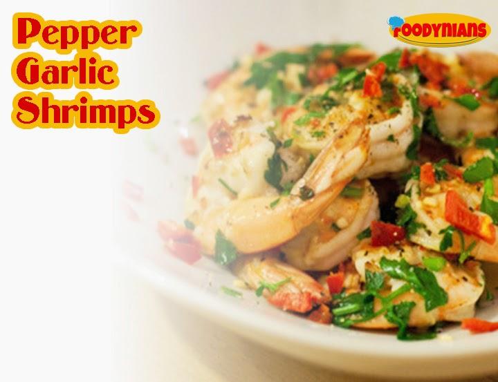 Pepper Garlic Shrimps