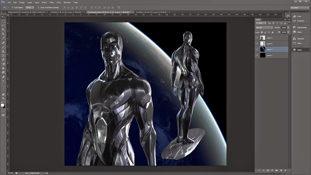 Gnomon Character Concept Design : Gnomon d character design sculpt model render with josh