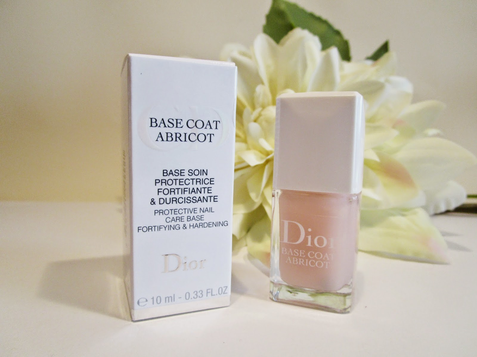 Base Coat Abricot de Christian Dior