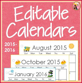 Editable calendar pages - I made these calendars (editable) for ...