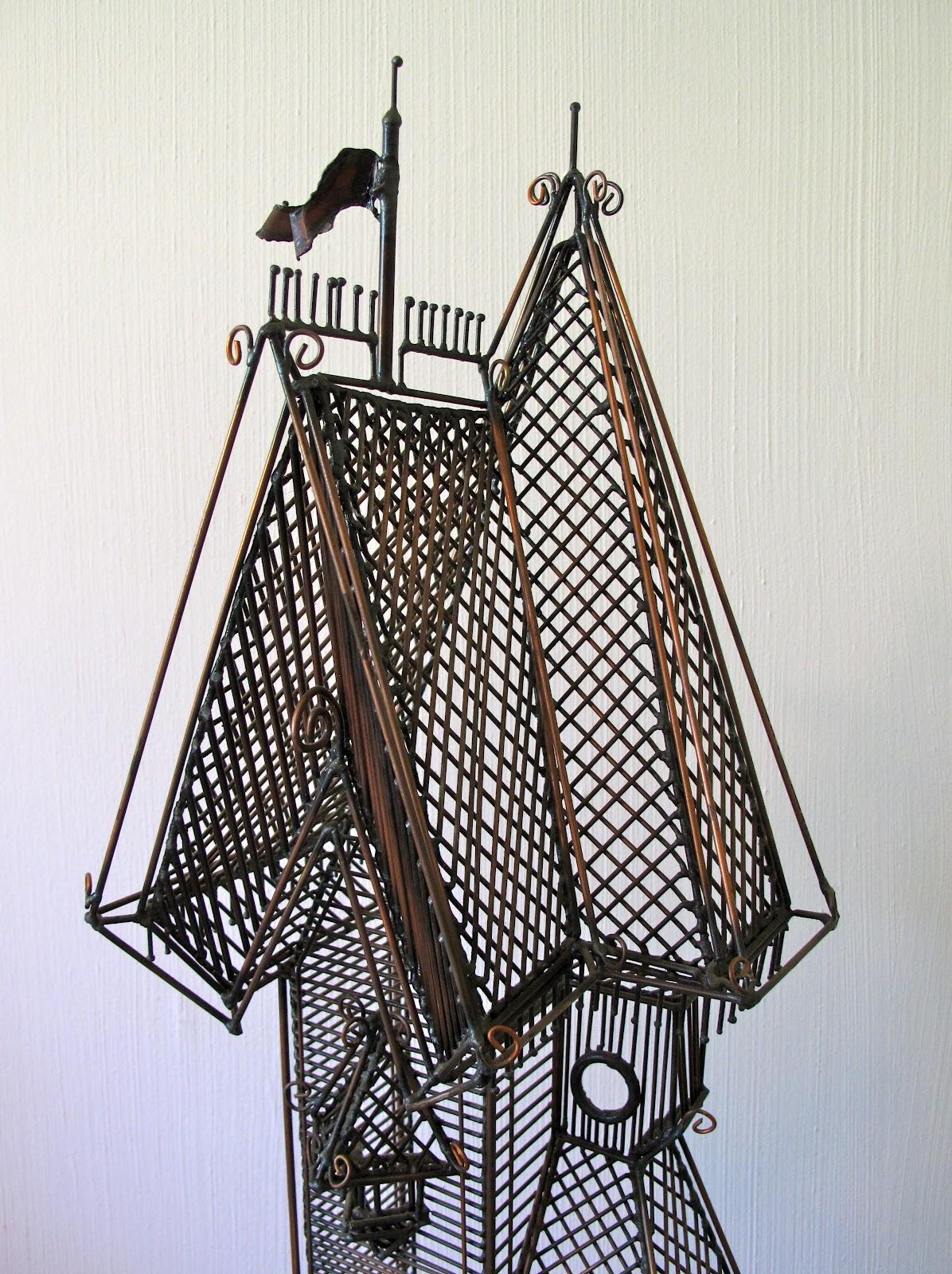 postwarpop: Wire Sculpture • Guy Pullen • California • 1970s