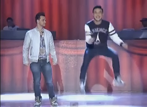 Ryan Bang performs 'Billy-Vhong' dance craze