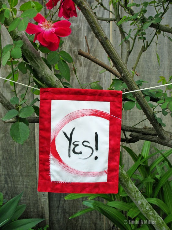 Yes prayer flag