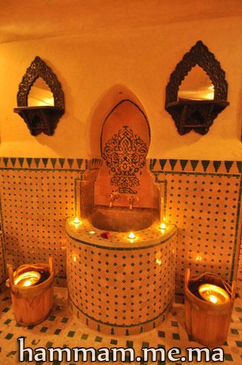 salle du bain hammam zellige mosaque marocain - Salle De Bain Marocaine Traditionnelle