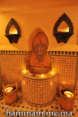 """Salle du bain """"hammam"""" zellige mosaïque Marocain"""