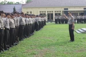 Kapolres Prabumulih Lepas 126 Personil Untuk Pilkada