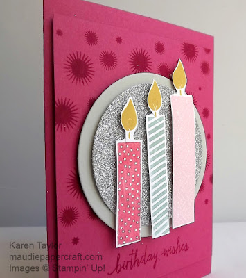 Stampin' Up! build a birthday