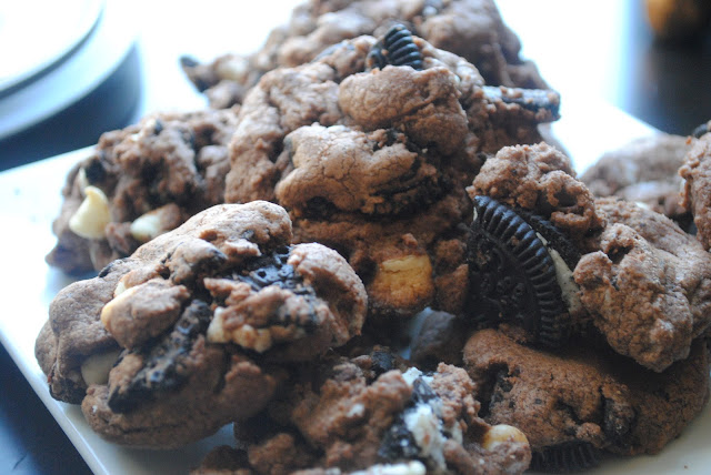 Triple Fudge Oreo Cookies