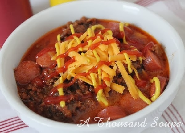 Chili Cheese Dog Soup