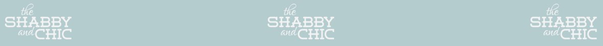 The Shabby and Chic