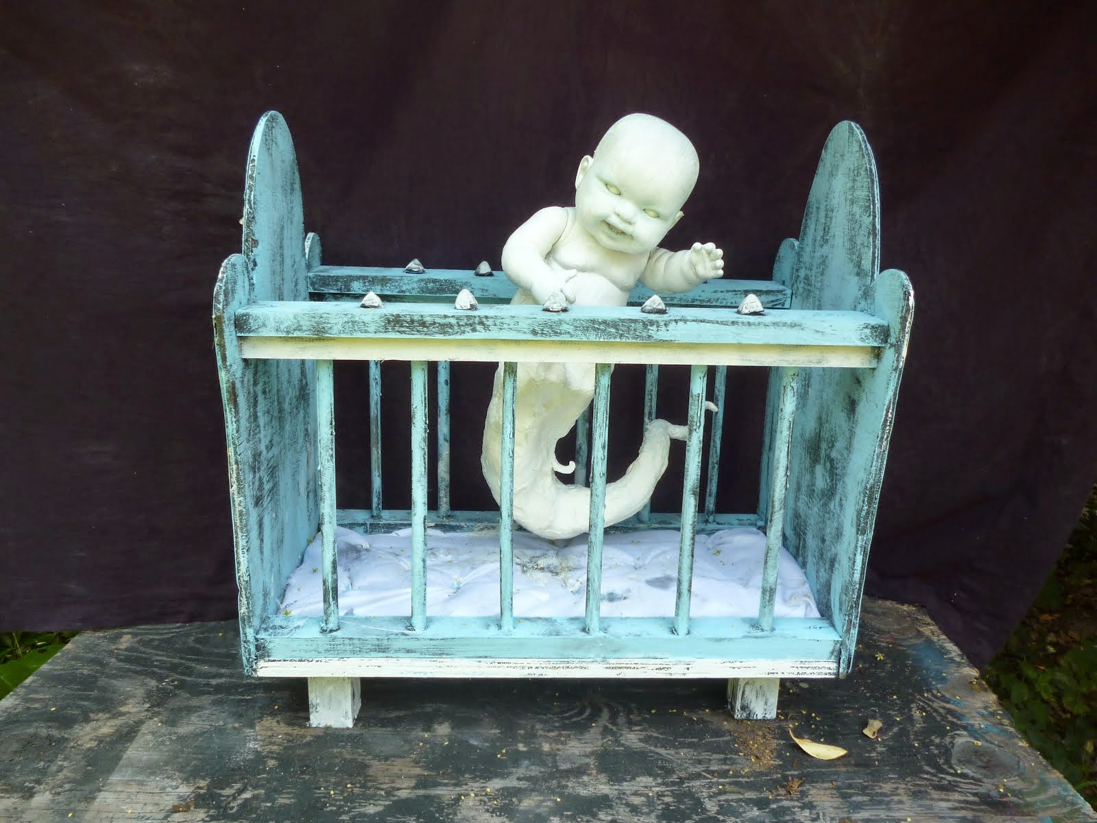 The Orphanage of Misfit Babes  The haunted crib