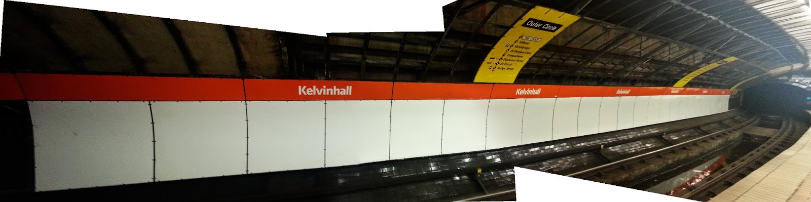 Kelvinhall Underground Station, Glasgow