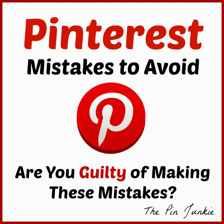 Pinterest mistakes and how to avoid them