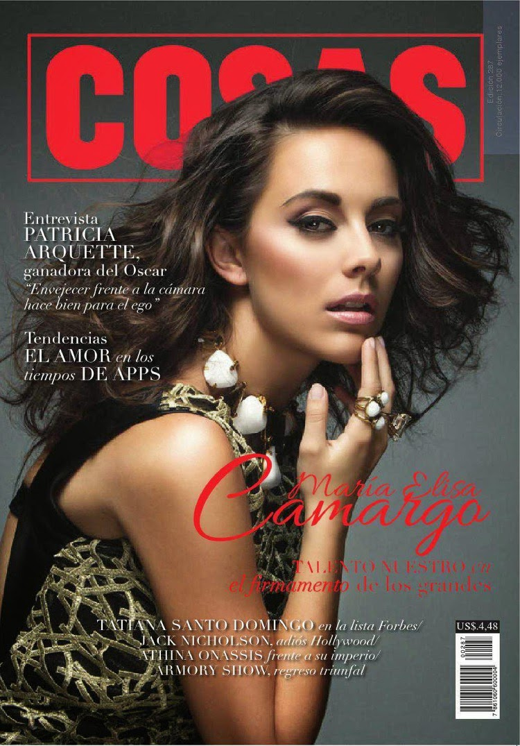 Actress, Singer, Model @ Maria Elisa Camargo - Revista Cosas, April 2015
